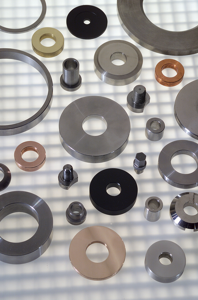 Spacers & Machined Parts From Willie Washer