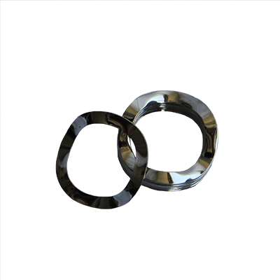 Wave Washer - 0.520 ID, 0.937 OD, 0.047 Thick, Spring Steel - Hard, Zinc & Yellow