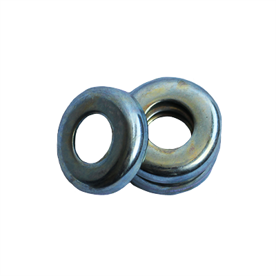 Cup Washer - 0.328 ID, 0.531 OD, 0.018 Thick, Low Carbon Steel - Soft, Galvanized