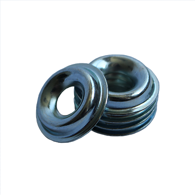 Finishing Washer - 0.320 ID, 1.230 OD, 0.036 Thick, Low Carbon Steel - Soft, Zinc & Yellow