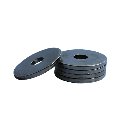 Heavy Fender Washer - 0.280 ID, 1.000 OD, 0.124 Thick, Low Carbon Steel - Soft, Zinc & Clear
