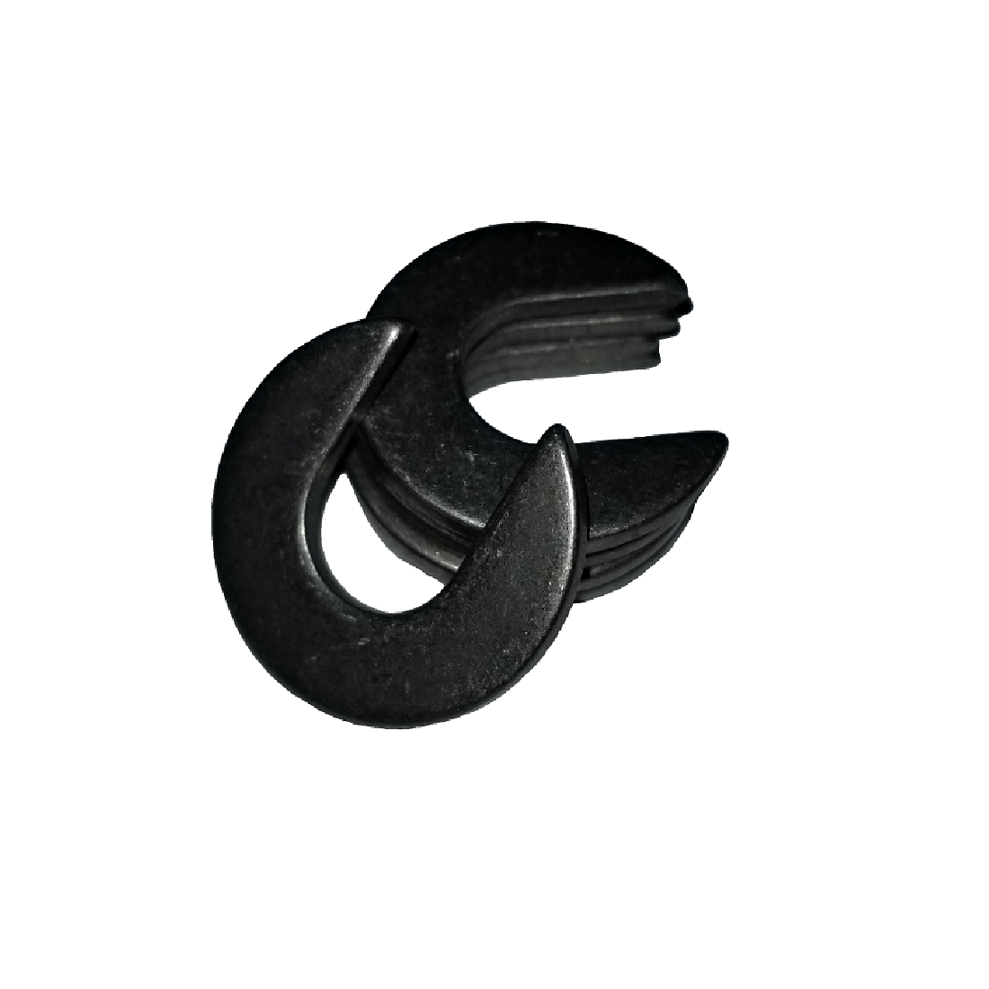 Slotted Washer - 0.150 ID, 0.437 OD, 0.025 Thick, Spring Steel - Hard
