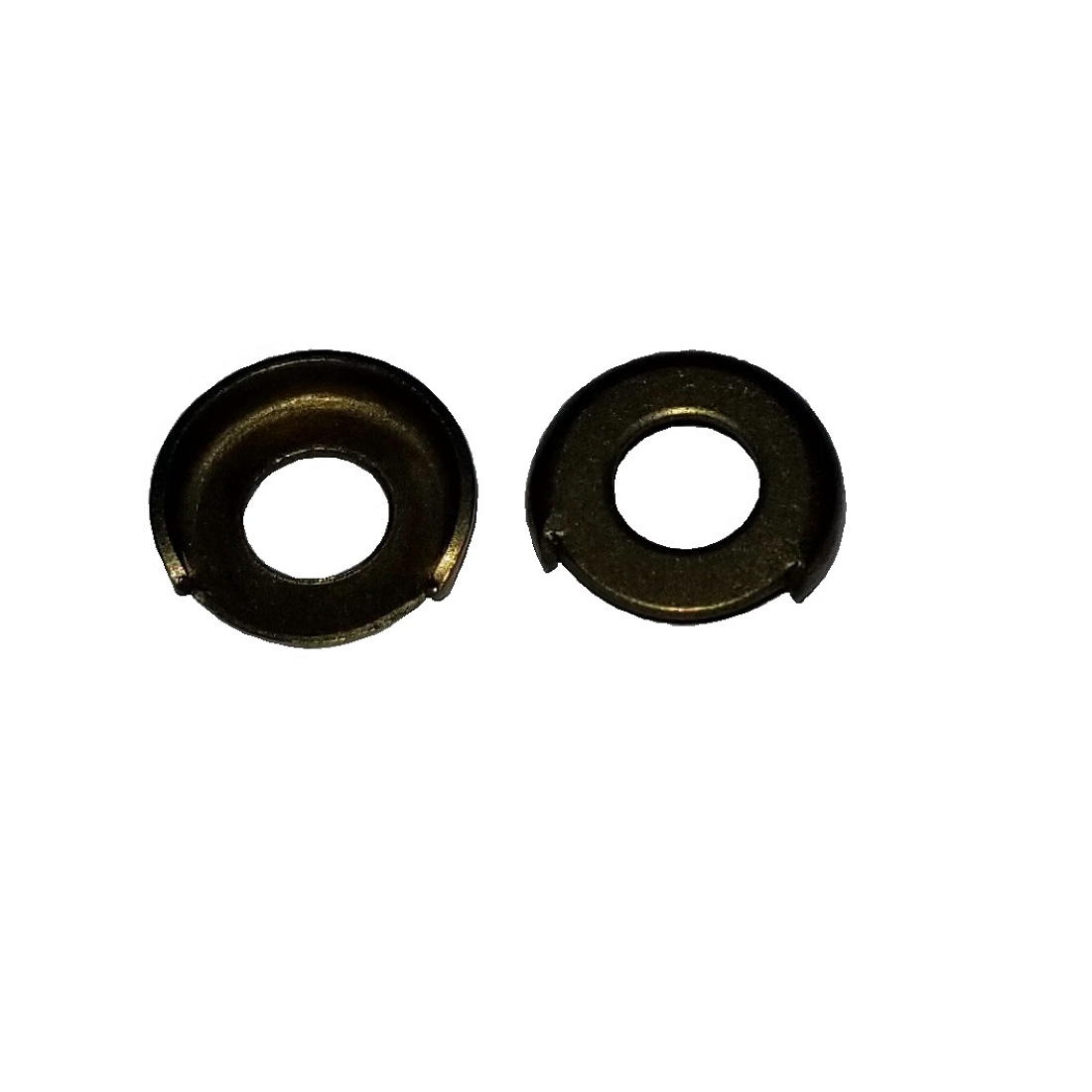 Terminal Cup Washer - 0.255 ID, 0.590 OD, 0.020 Thick, Copper