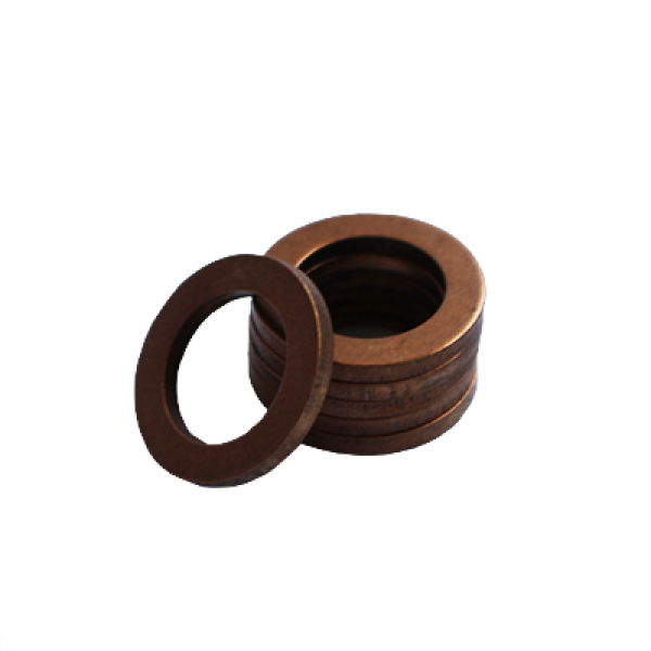 Flat Washer - 0.063 ID, 0.106 OD, 0.006 Thick, Bronze