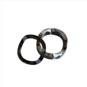 Wave Washer - 0.160 ID, 0.250 OD, 0.004 Thick, Bronze