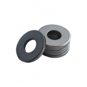 Flat Washer - 0.068 ID, 0.104 OD, 0.016 Thick, Stainless - 300 Series