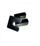Slotted Square Washer - 0.562 ID, 3.000 OD, 0.060 Thick, Aluminum
