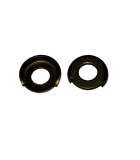 Terminal Cup Washer - 0.203 ID, 0.500 OD, 0.026 Thick, Brass