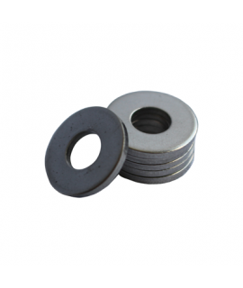 Flat Washer - 5.046 ID, 9.999 OD, 0.250 Thick, Stainless - 316